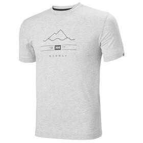 Helly Hansen Skog Graphic Koszulka Mężczyźni, szary